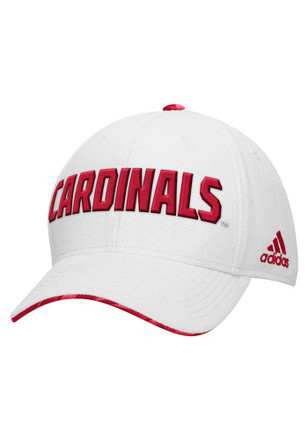 Adidas Louisville Cardinals Mens White 2015 Spring Game Adjustable Hat