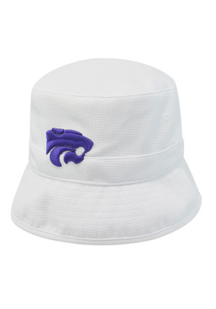 Top of the World K-State Wildcats Mens White Backswing Flex Hat