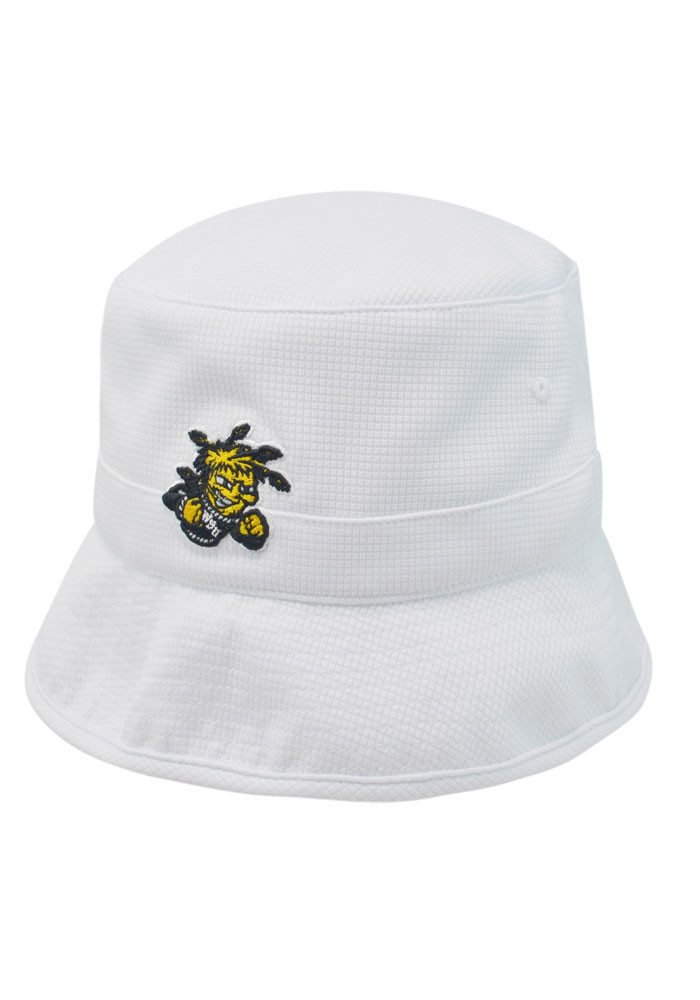 Top of the World Wichita State Shockers Mens White Backswing Flex Hat - Image 1