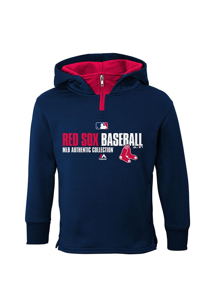 cheaper acd94 93a5d Boston Red Sox Kids Navy Blue Team Favorite Long Sleeve Hoodie