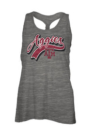 Texas A&M Aggies Womens Grey Cinch Tank Top