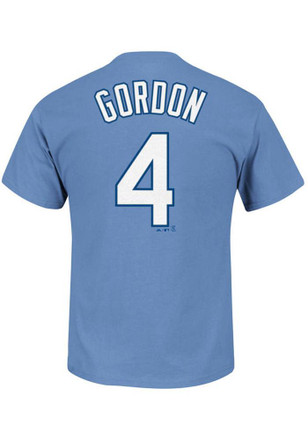 Alex Gordon Kansas City Royals Toddler Light Blue Alternate Player Tee