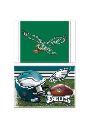 Philadelphia Eagles Rectangle 2pk Magnet