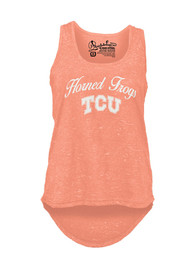 TCU Horned Frogs Womens Felicty Tank Top - Orange