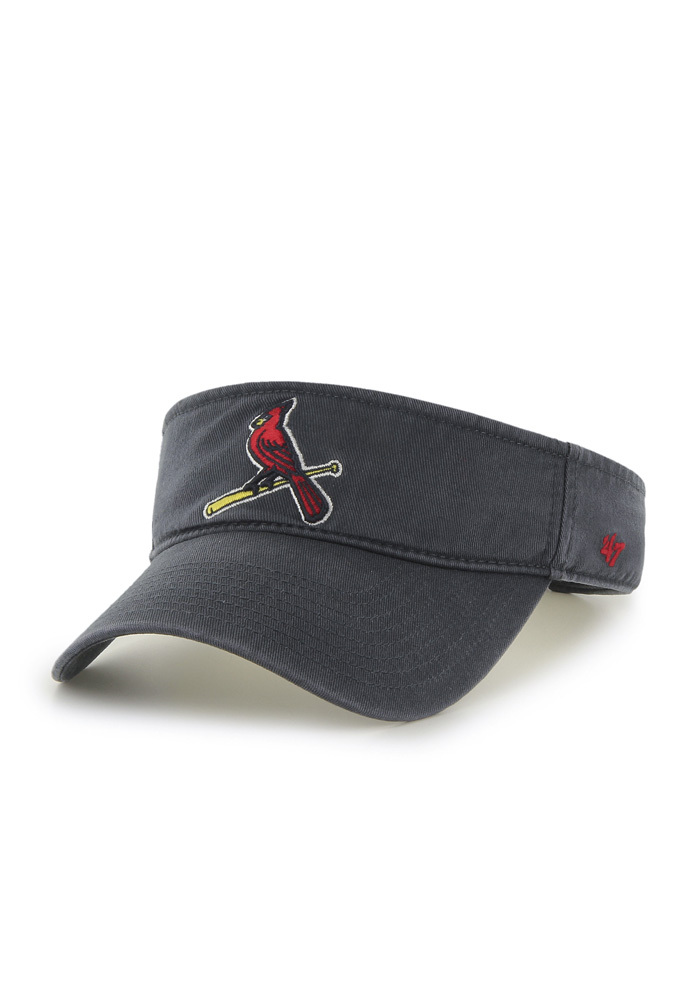 '47 St Louis Cardinals Mens Navy Blue Clean Up Adjustable Visor - Image 1
