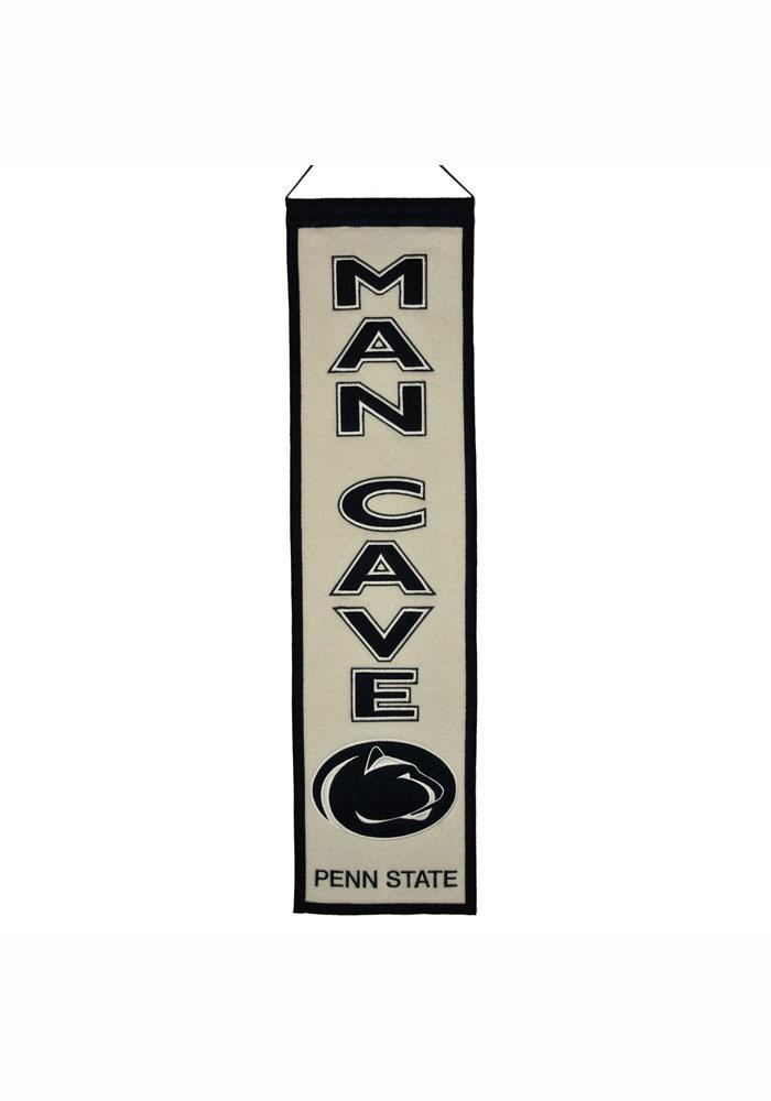Penn State Nittany Lions 8x32 Man Cave Banner - Image 1