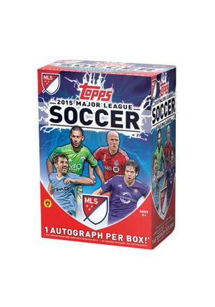 2015 Topps Blaster Box Collectibles Soccer Cards