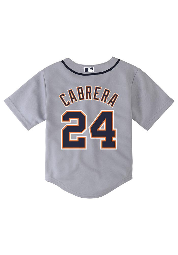 miguel cabrera detroit tigers youth navy blue youth cabrera cool base replica jersey image 1
