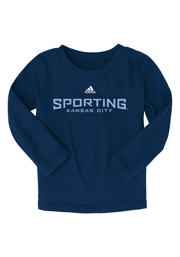 Sporting Kansas City Toddler Navy Blue Wordmark T-Shirt