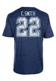 Emmitt Smith Dallas Cowboys Navy Blue Landon Fashion Player Tee