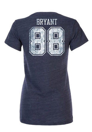 Dez Bryant Dallas Cowboys Apparel Dallas Cowboys Womens Navy Blue Prescot Player Tee
