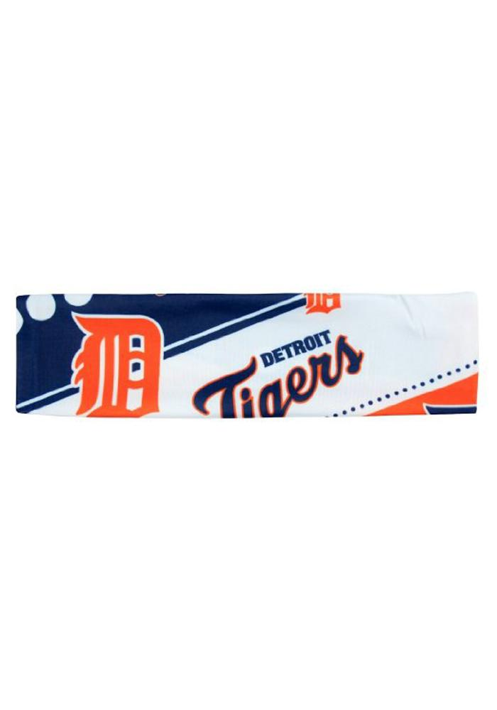 Detroit Tigers Stretch Patterned Womens Headband - Image 1