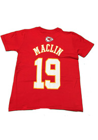 aaf49804 Jeremy Maclin Outer Stuff Kansas City Chiefs Youth Youth Jeremy Maclin Red  Player Tee