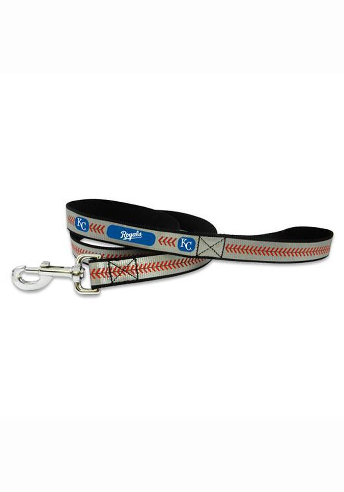 Kansas City Royals Reflective Baseball Pet Leash - Image 1
