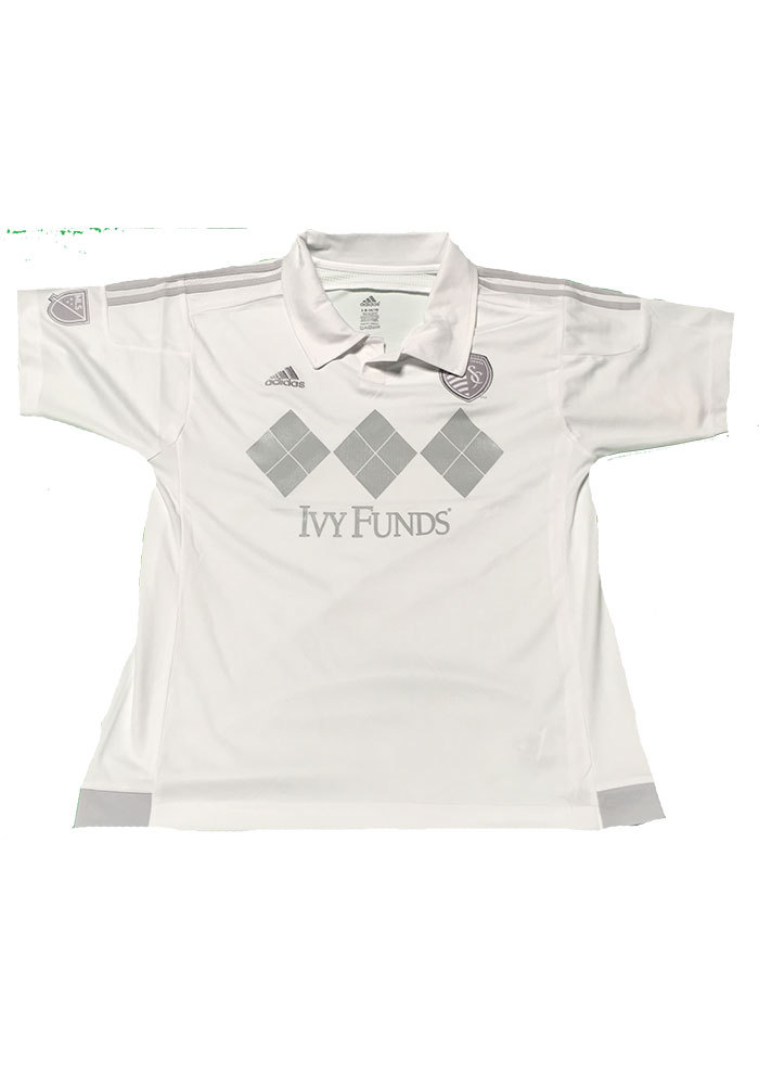 Sporting Kansas City Youth White Replica Soccer Jersey - Image 1