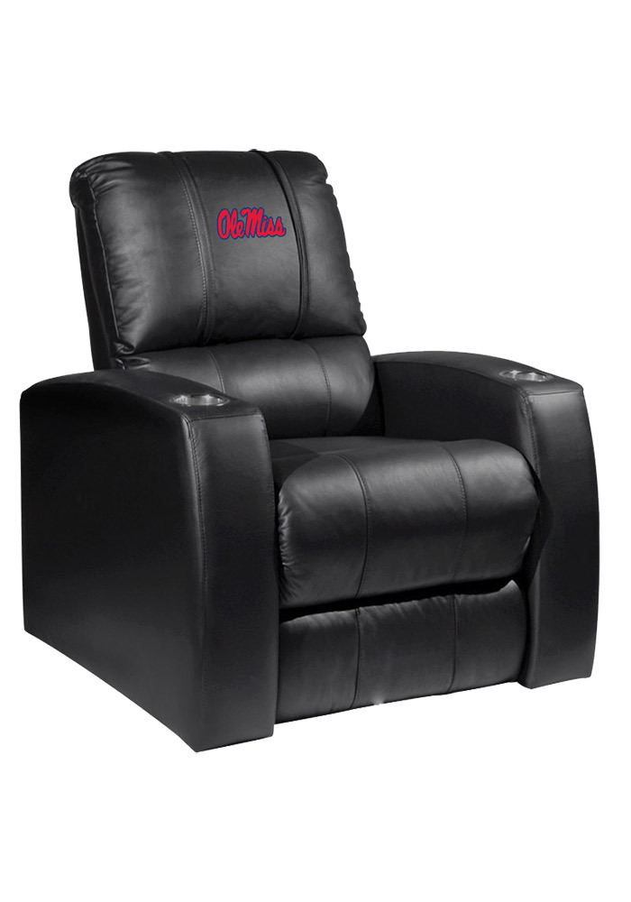 Ole Miss Rebels Leather Recliner