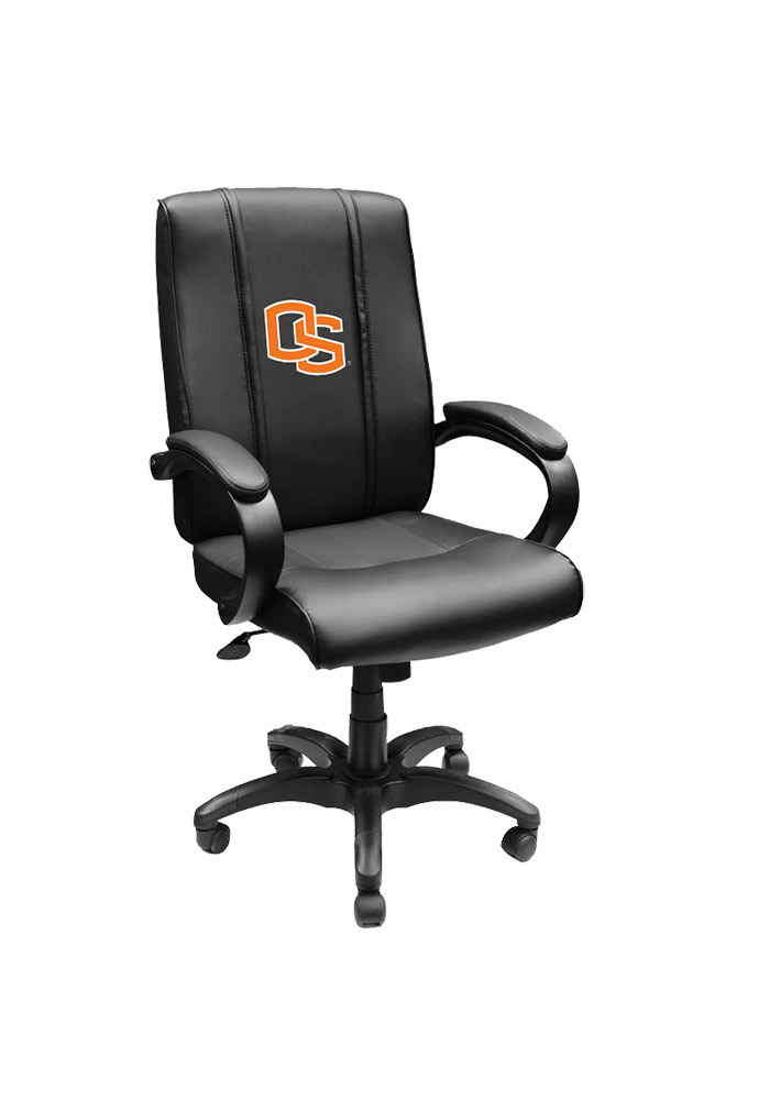 Oregon State Beavers Leather Desk Chair - Image 1