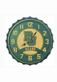 Baylor Bears Bottle Cap Wall Clock