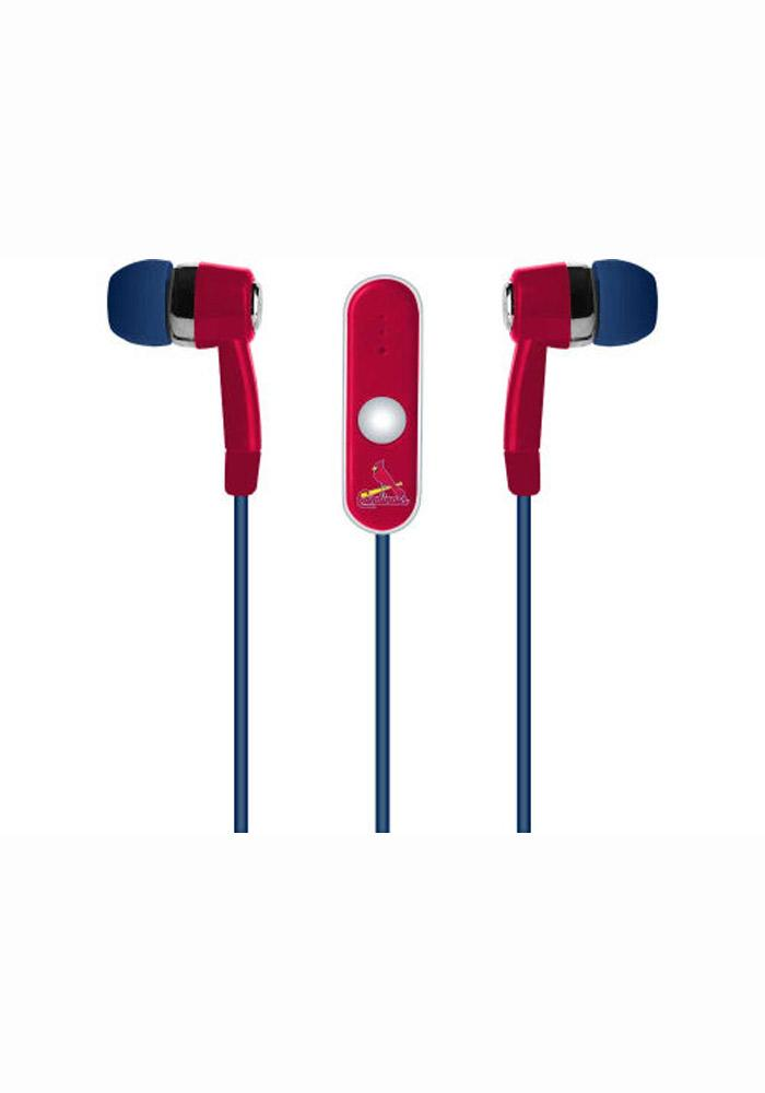 St Louis Cardinals Stereo Ear Buds - Image 1