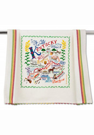 Kentucky Printed and Embroidered Towel