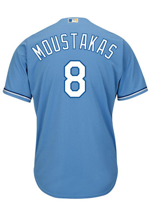 Mike Moustakas KC Royals Mens Replica Cool Base Player Jersey
