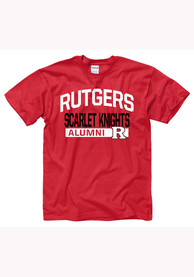 Rutgers Scarlet Knights Red Alum Tee