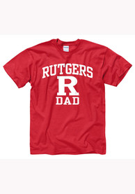 Rutgers Scarlet Knights Red Dad Tee