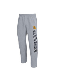 Missouri Western Griffons Champion Open Bottom Sweatpants - Grey