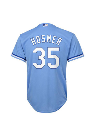 Eric Hosmer Outer Stuff KC Royals Kids Blue Replica Jersey Baseball Jersey
