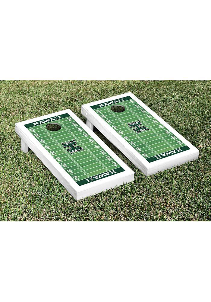 Hawaii Warriors Cornhole Game Set Tailgate Game - Image 1