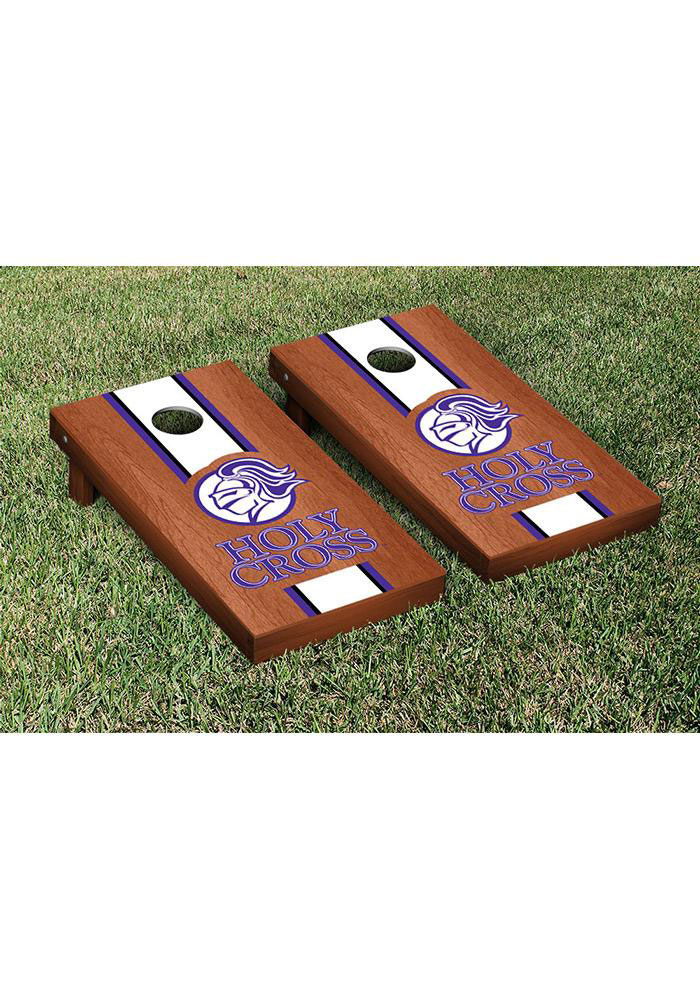 Holy Cross Crusaders Cornhole Game Set Tailgate Game - Image 1