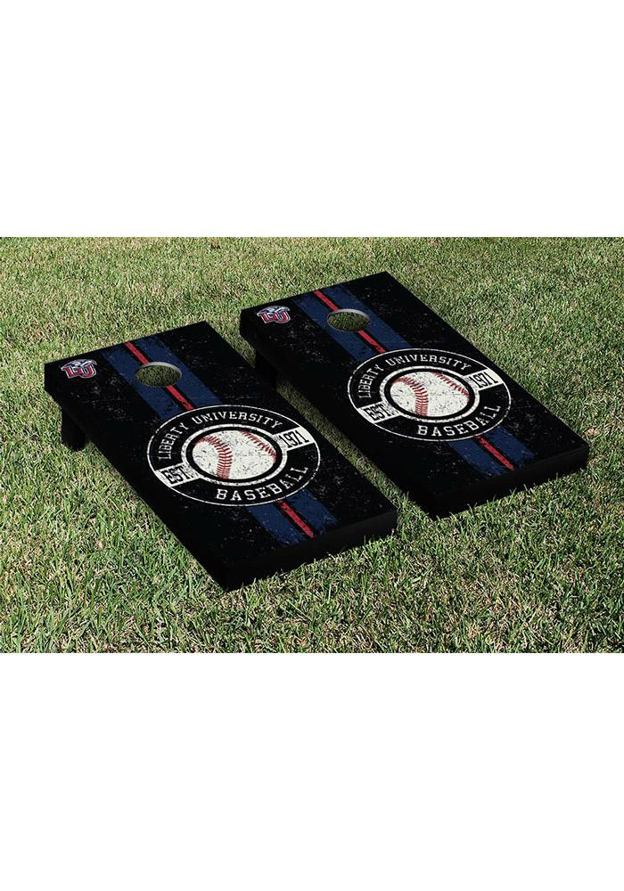 Liberty Flames Cornhole Game Set Tailgate Game - Image 1