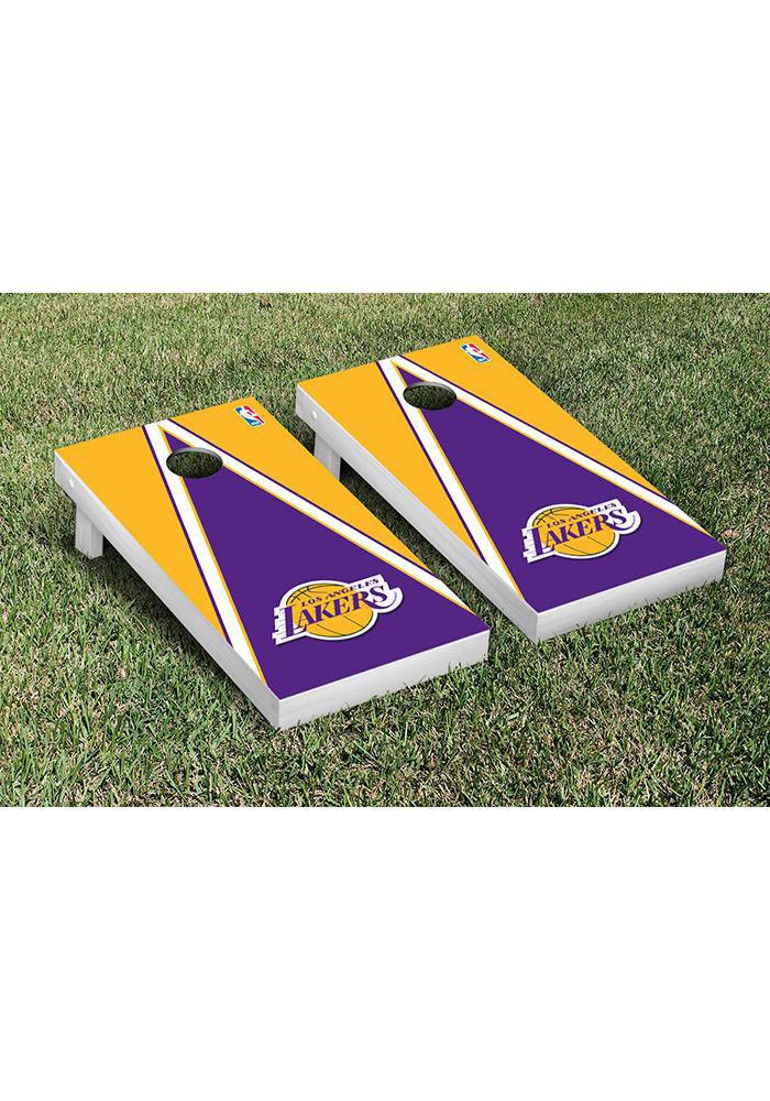 Los Angeles Lakers Cornhole Game Set Tailgate Game - Image 1