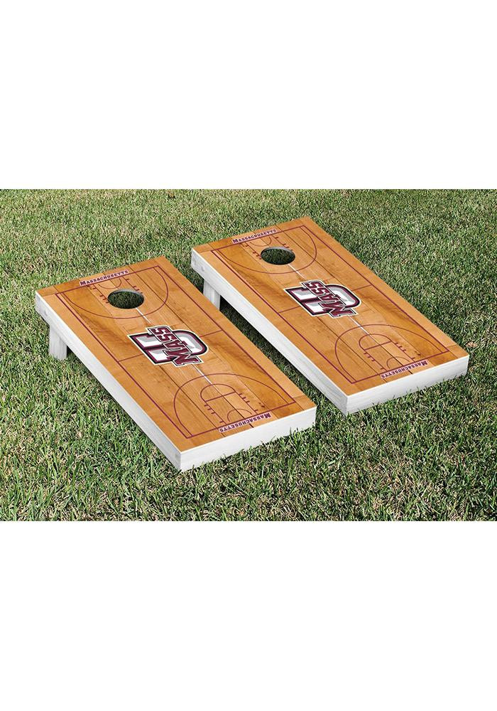 Massachusetts Minutemen Cornhole Game Set Tailgate Game - Image 1