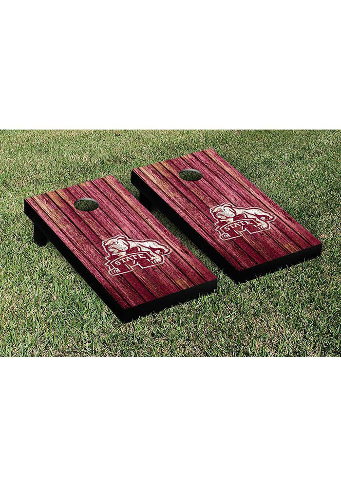 Mississippi State Bulldogs Cornhole Game Set Tailgate Game - Image 1