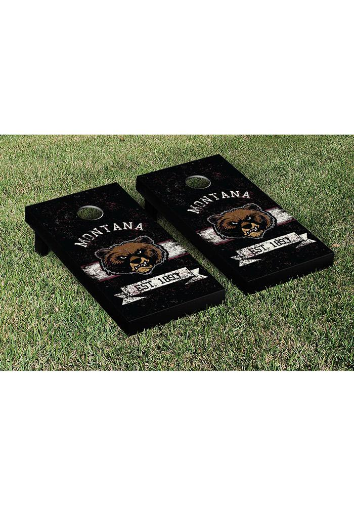 Montana Grizzlies Cornhole Game Set Tailgate Game - Image 1