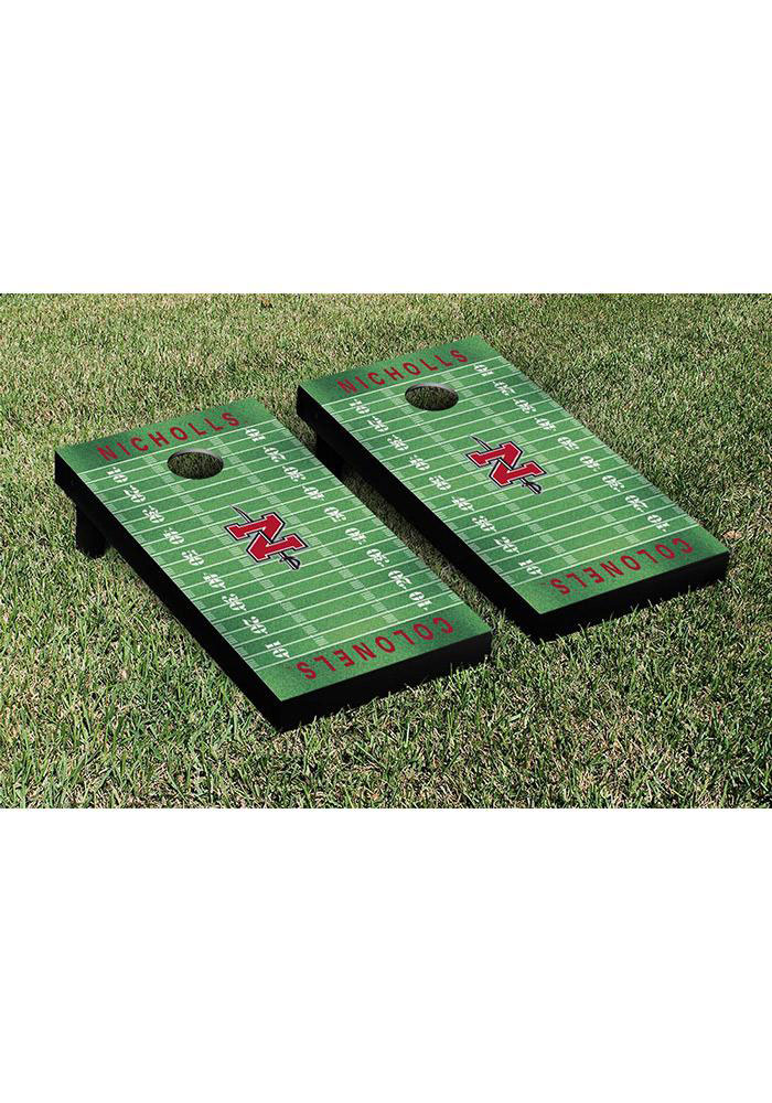 Nicholls State Colonels Cornhole Game Set Tailgate Game - Image 1