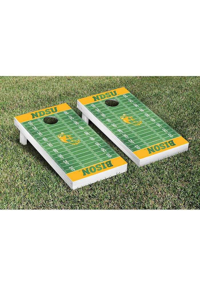 North Dakota State Cornhole Game Set Tailgate Game - Image 1