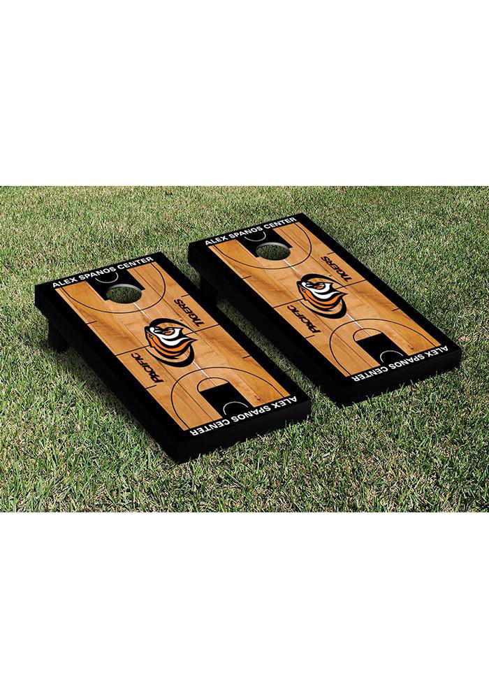 Pacific Tigers Cornhole Game Set Tailgate Game - Image 1