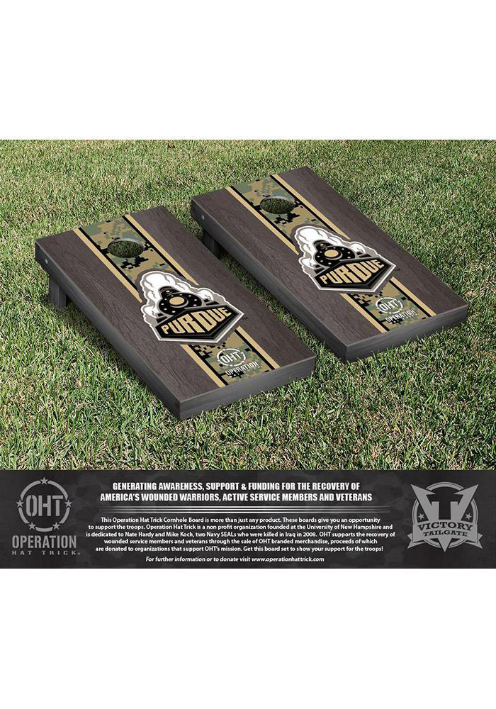Purdue Boilermakers Cornhole Game Set Tailgate Game - Image 1