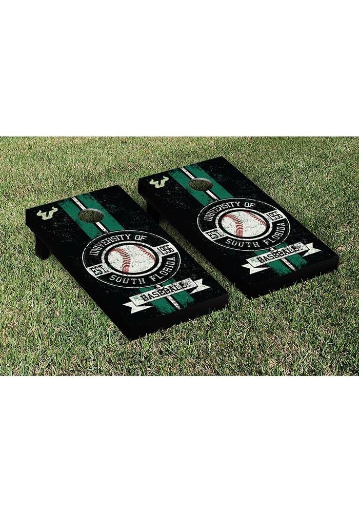 South Florida Bulls Cornhole Game Set Tailgate Game - Image 1