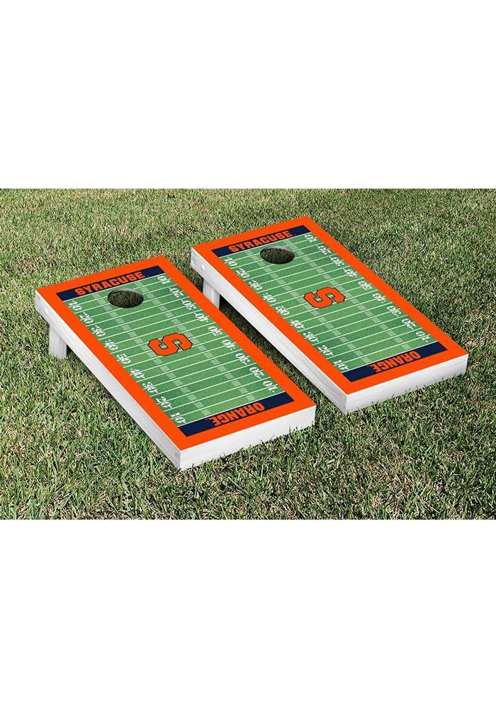 Syracuse Orange Cornhole Game Set Tailgate Game - Image 1