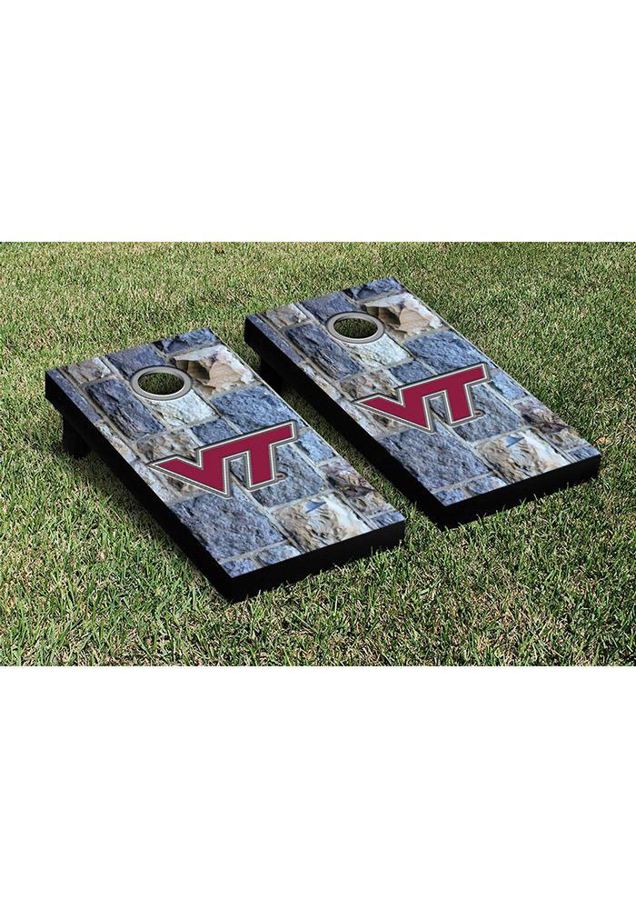 Virginia Tech Hokies Cornhole Game Set Tailgate Game - Image 1