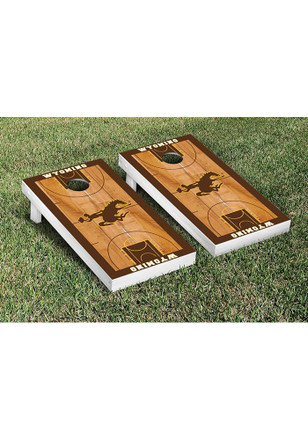 Wyoming Cowboys Cornhole Game Set Tailgate Game