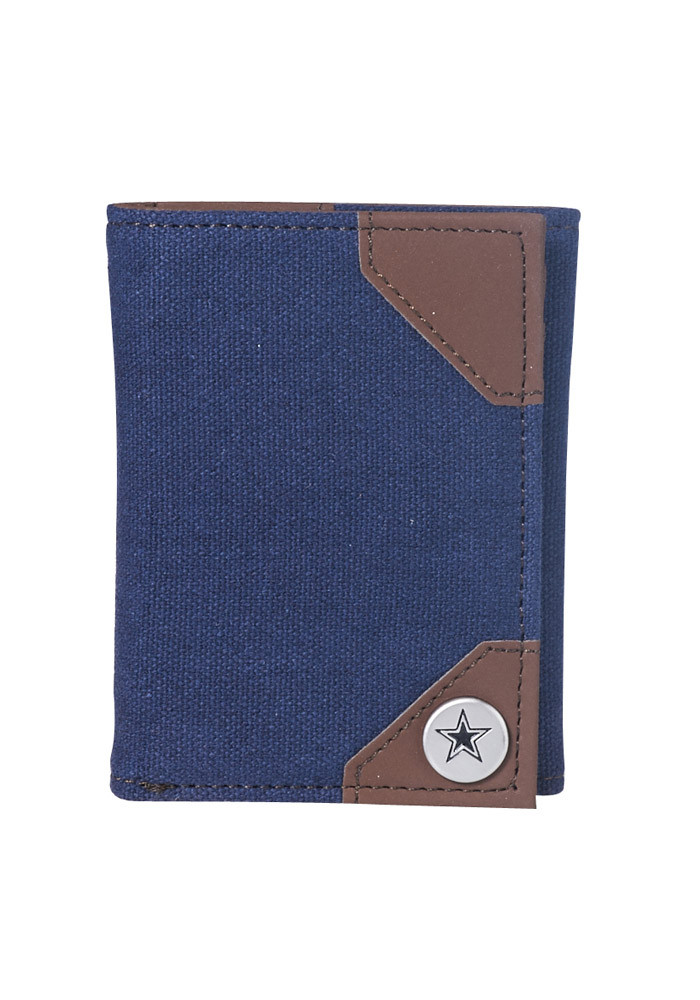 Dallas Cowboys Park Mens Trifold Wallet - Image 1