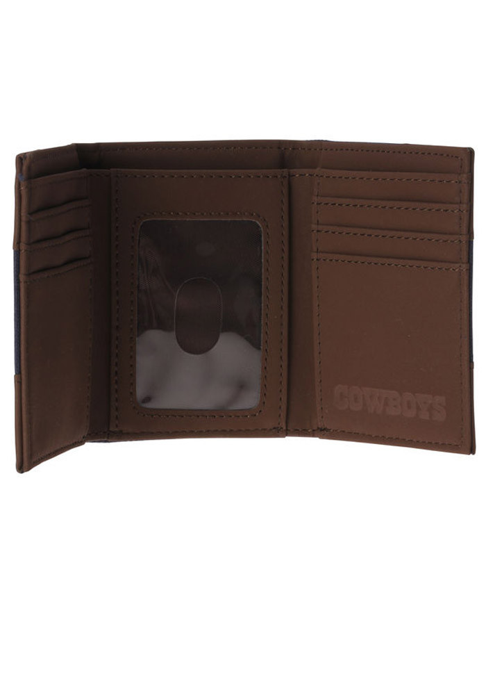 Dallas Cowboys Park Mens Trifold Wallet - Image 2