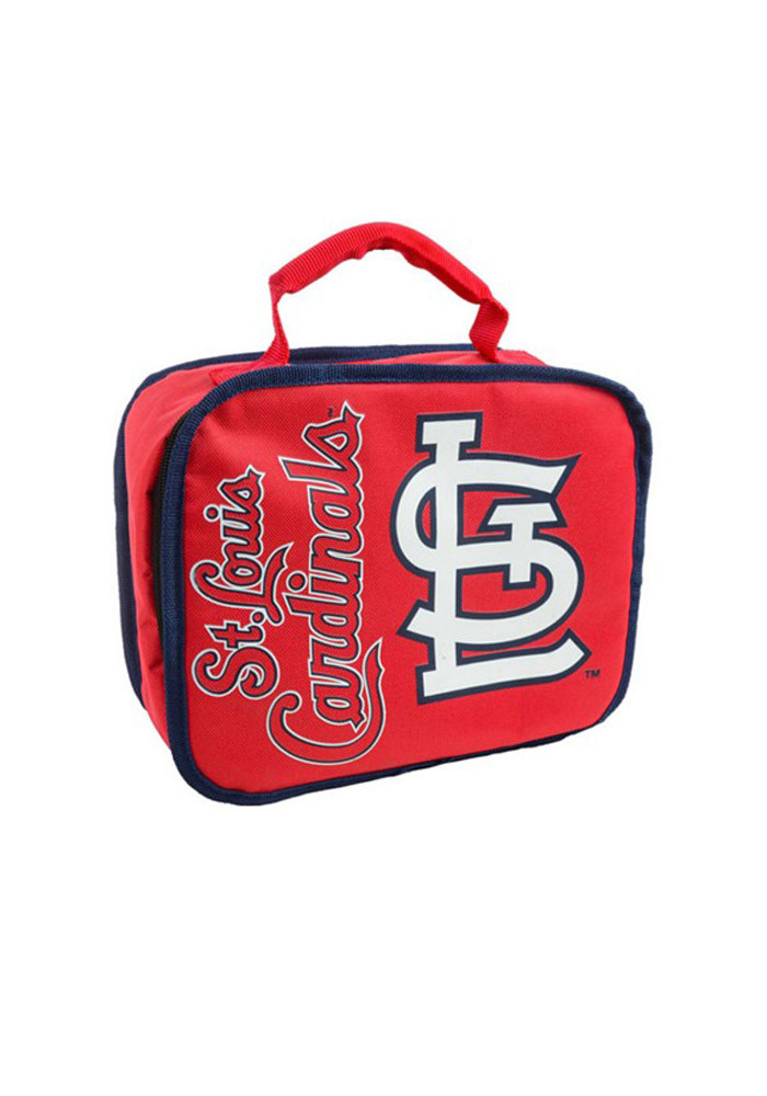 St Louis Cardinals Red Sacked Lunch Tote - Image 1