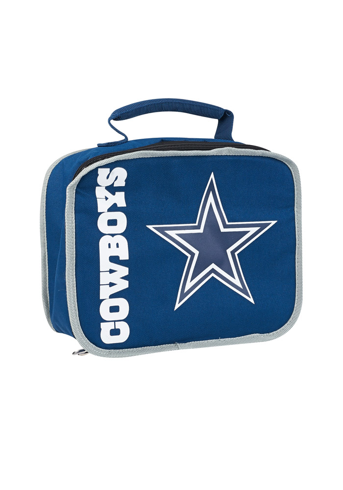 Dallas Cowboys Navy Blue Sacked Lunch Tote - Image 1