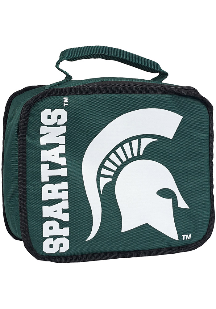 Michigan State Spartans Green Sacked Lunch Tote - Image 1