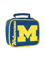Michigan Wolverines Navy Blue Sacked Lunch Tote